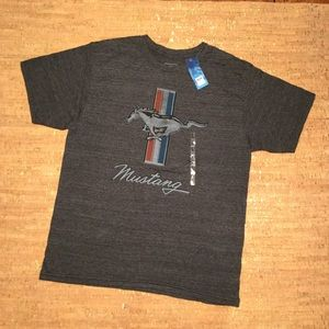 Ford Mustang Men's Heathered Grey T- Shirt